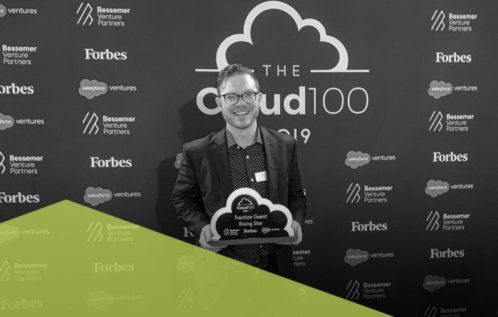 Forbes names Traction Guest a Rising Star in the Cloud 100 list Thumbnail