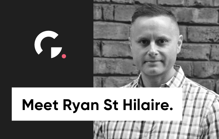 Meet Ryan St Hilaire, our new VP of Product Management Photo