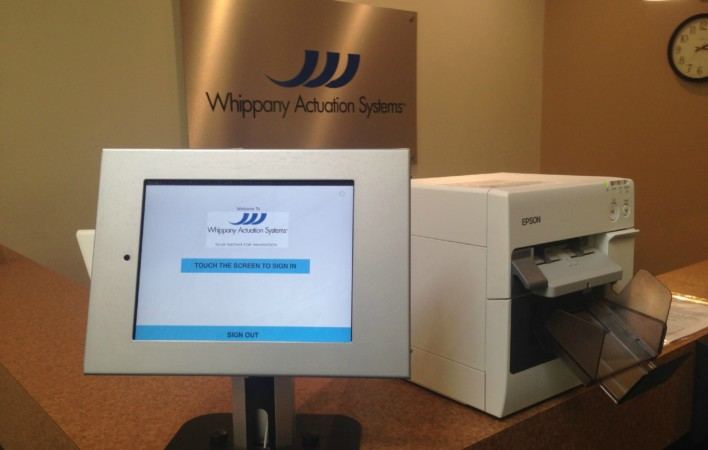 Visitor Management Award: Whippany Actuation Systems Thumbnail