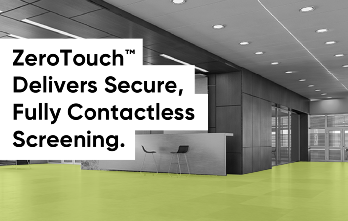 Introducing ZeroTouch™ for Touchless Sign-in / Sign-out and Secure Registration for Employees and Visitors Thumbnail